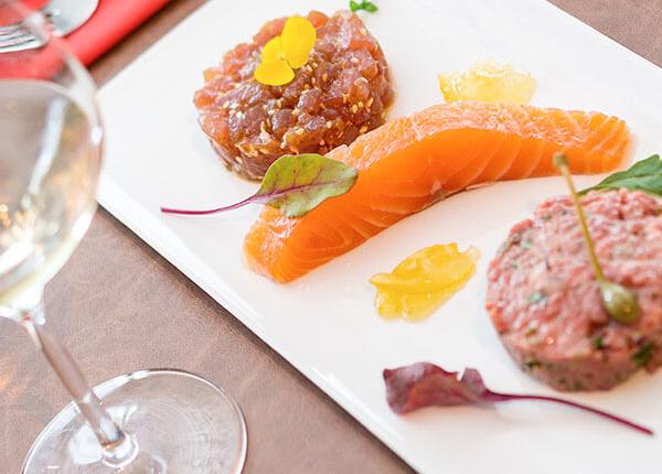 Entrées au Menu - Restaurant La Vacherie - Restaurant à viande à Nantes (44)