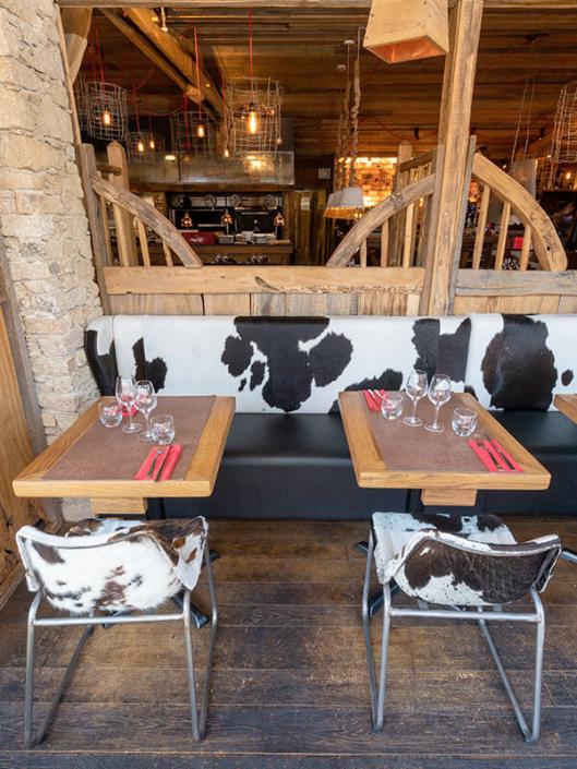 Décoration insolite - Restaurant La Vacherie - Restaurant à viande à Nantes (44)